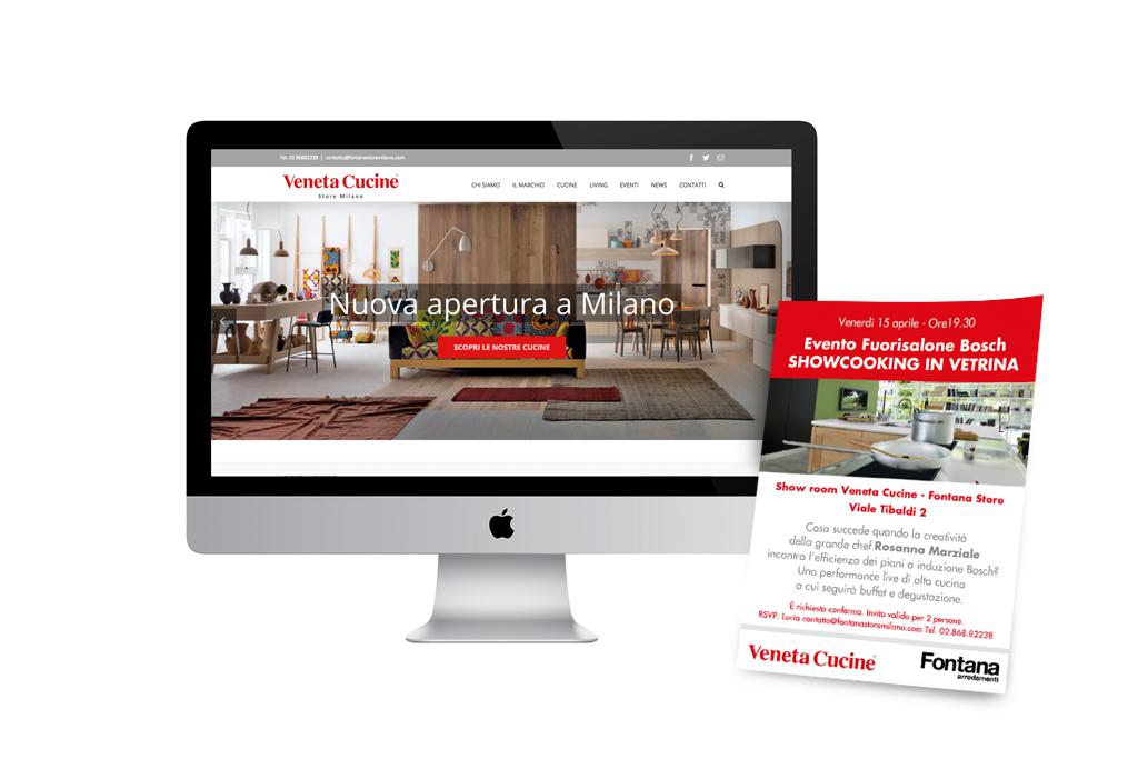 Veneta Cucine Fontana Store Website