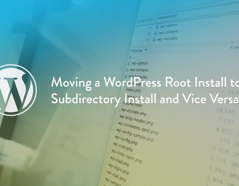 spostare un sito wordpress