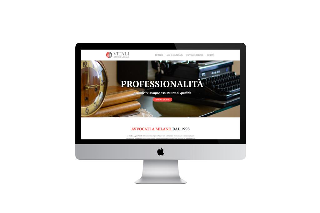 Vitali Studio Legale - Website