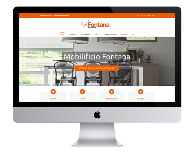 Mobilificio Fontana - Website